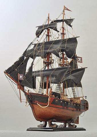 西洋古代帆船模型 ~ 海盗船